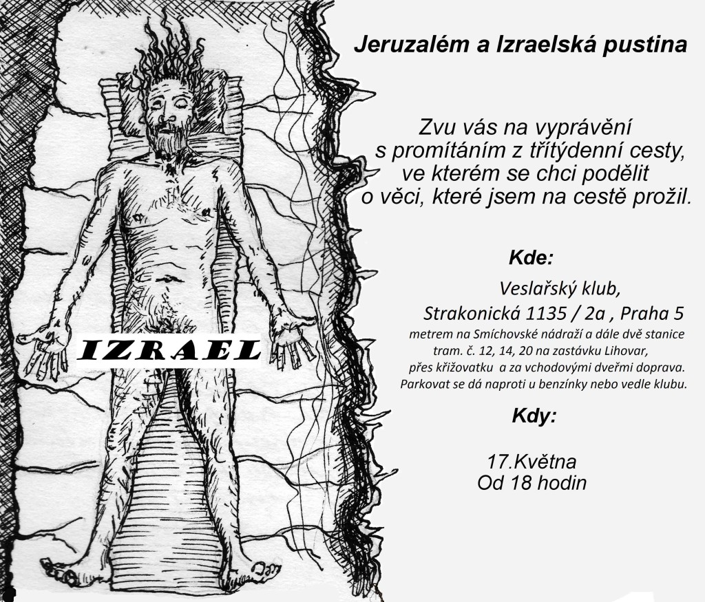Pozvánka Jeruzalém a Izraelská pustina 2